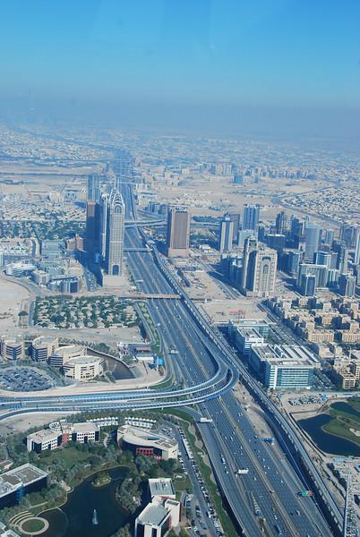 Seaplane flight over Dubai