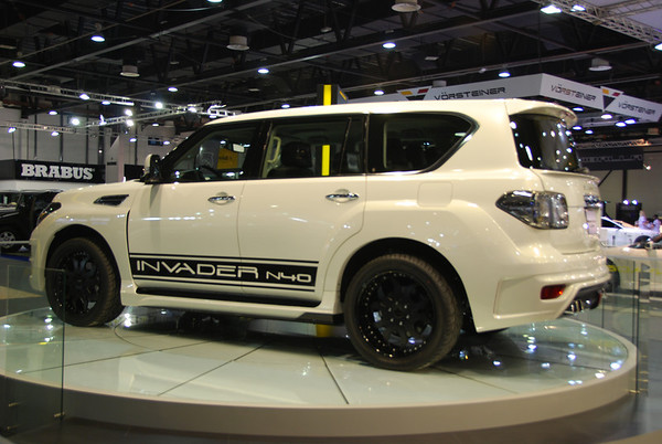 Dubai International Motor Show 2011