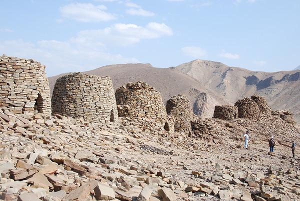 Al Ayn, Oman: Prehistoric beehive tombs