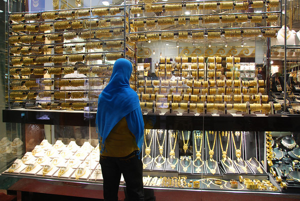 Dubai Creek and the gold and spice souqs