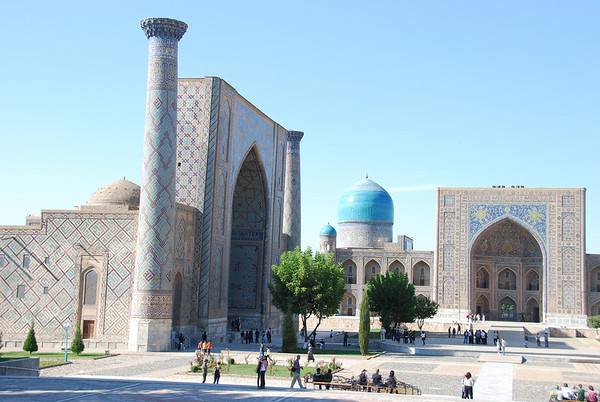Uzbekistan: Samarkand 1