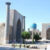 Uzbekistan: Samarkand 1 : Why men were born: but surely we are brave,  Who make the Golden Journey to Samarkand.  -  Flecker James Elroy